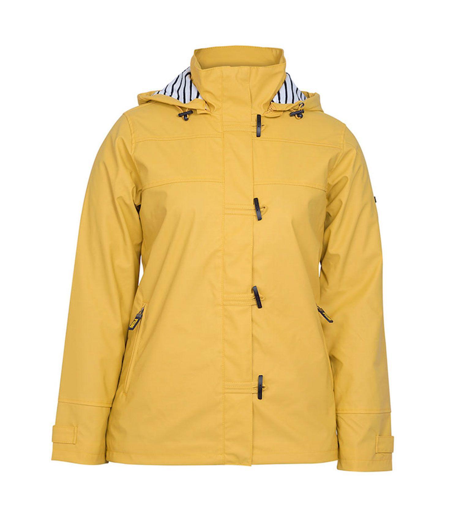 impermeable nautico mujer batela amarilo 3008
