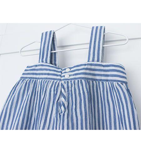 vestido bebe batela 2433 marino blanco 5
