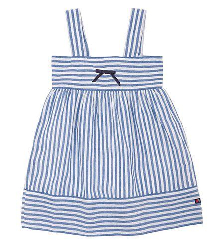 vestido bebe batela 2433 marino blanco 1