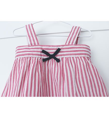 vestido bebe batela 2433 rosa antiguo 5