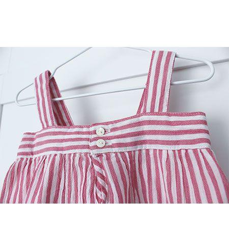 vestido bebe batela 2433 rosa antiguo 4