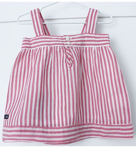 vestido bebe batela 2433 rosa antiguo 2
