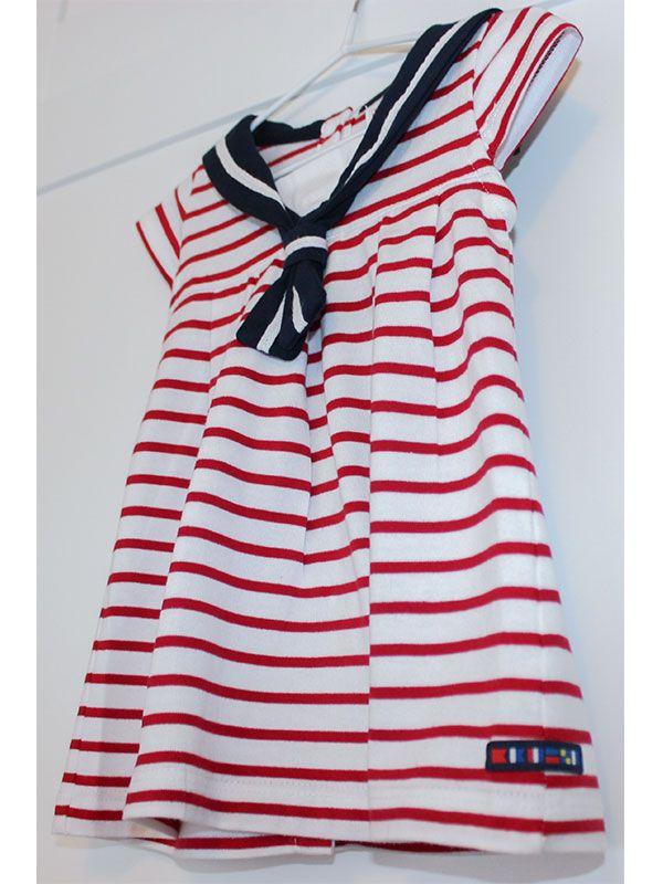 vestido bebe batela 2318 cereza rojo 5