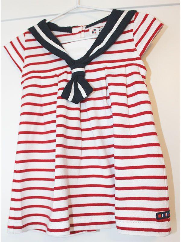 vestido bebe batela 2318 cereza rojo 3