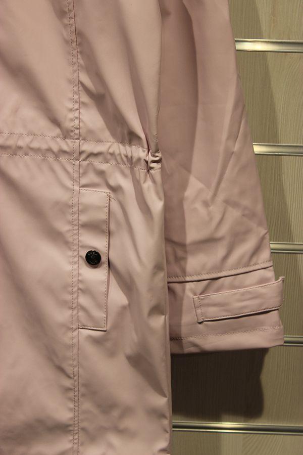 impermeable nautico mujer largo batela rosa 3044 manga