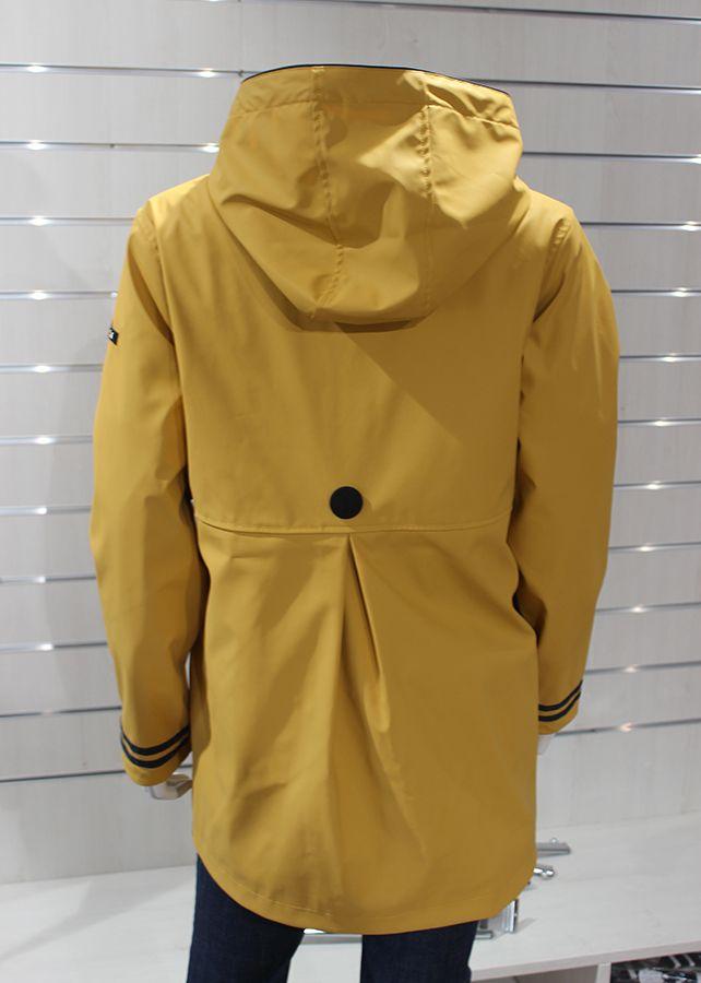 impermeable nautico mujer batela amarillo 3058 espalda