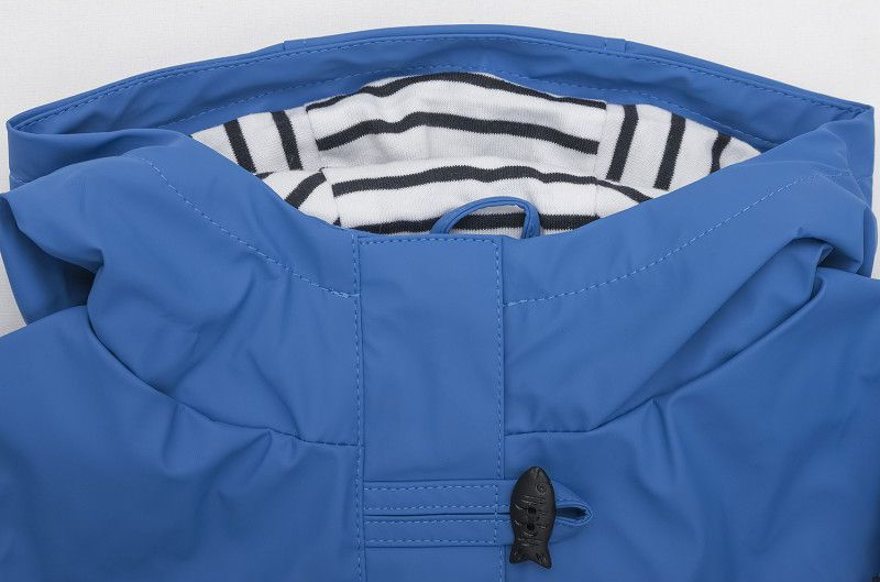impermeable nina batela color oceano 3121 cuello