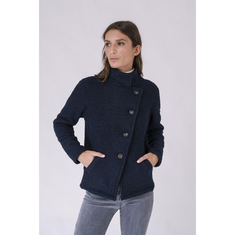 chaqueta polar rizo