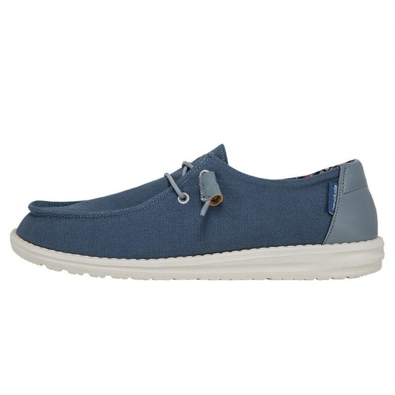 Zapato Wendy Classic Citadel Blue de la marca Hey Dude