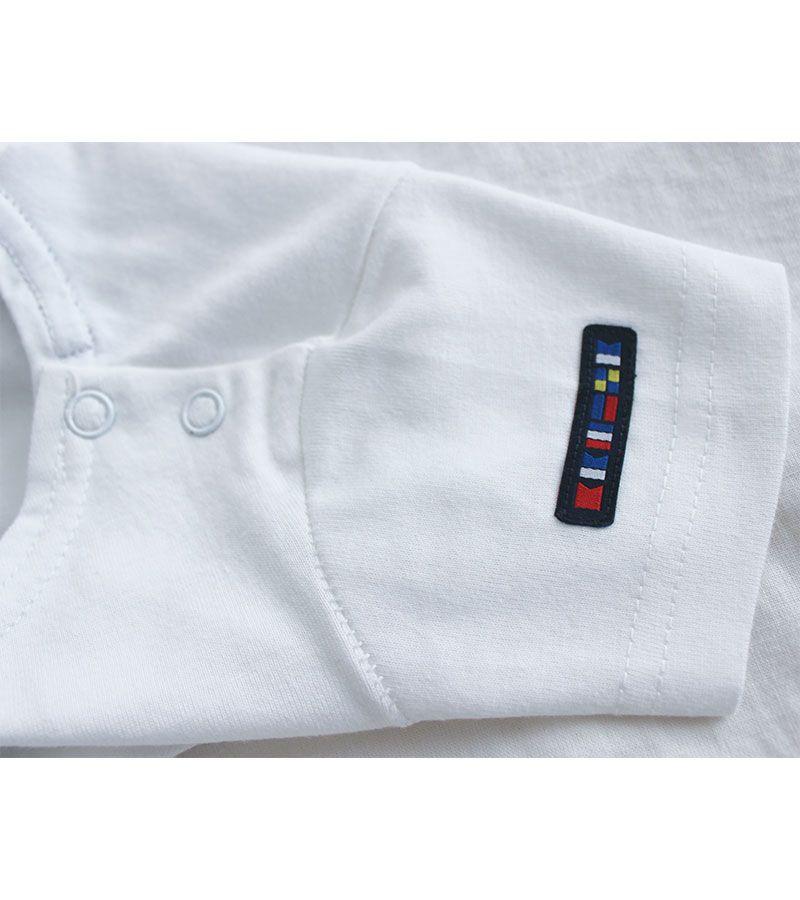 camiseta bebe ancla batela 2300 blanco 2