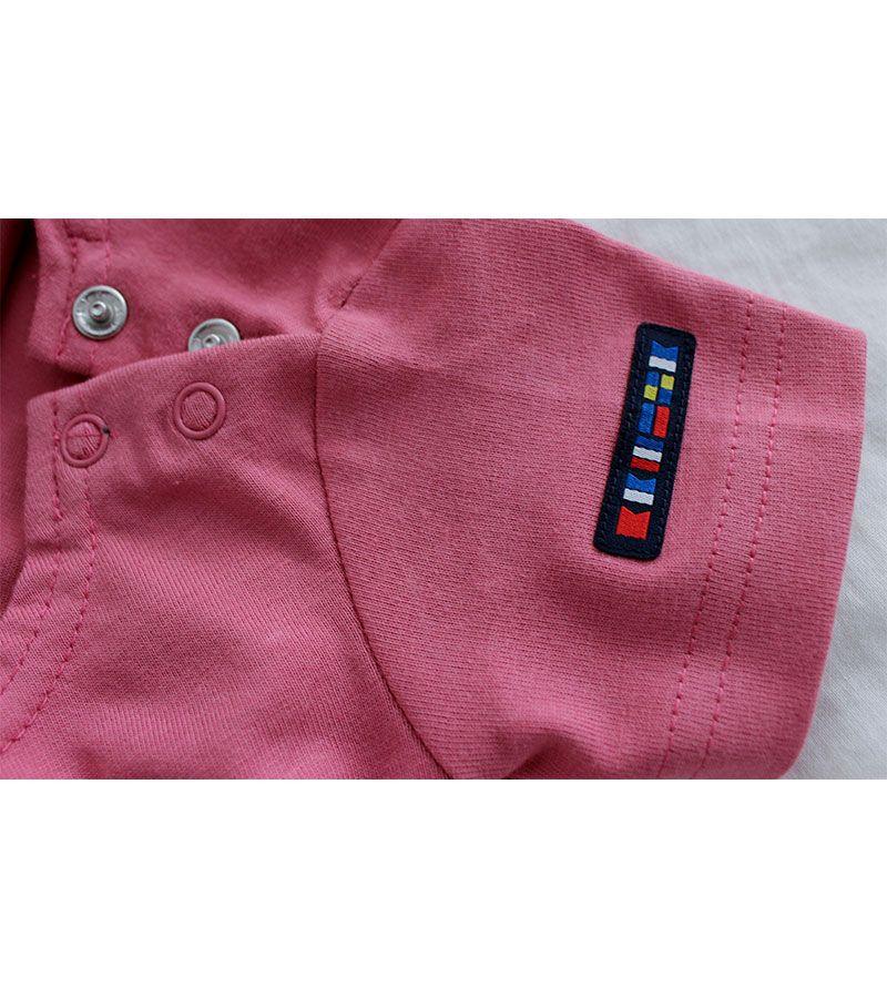 camiseta bebe ancla batela 2300 rosa 4