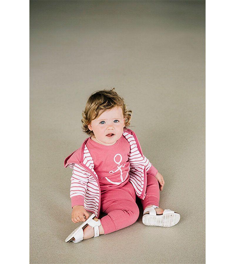 camiseta bebe ancla batela 2300 rosa 5