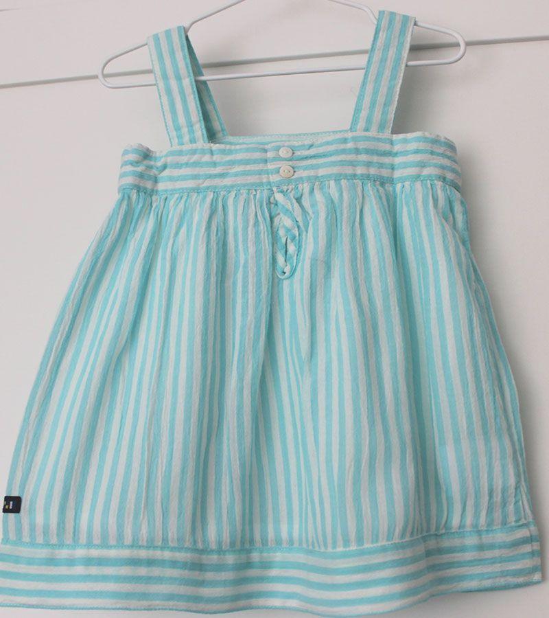 vestido bebe batela 2433 aguamarina 5