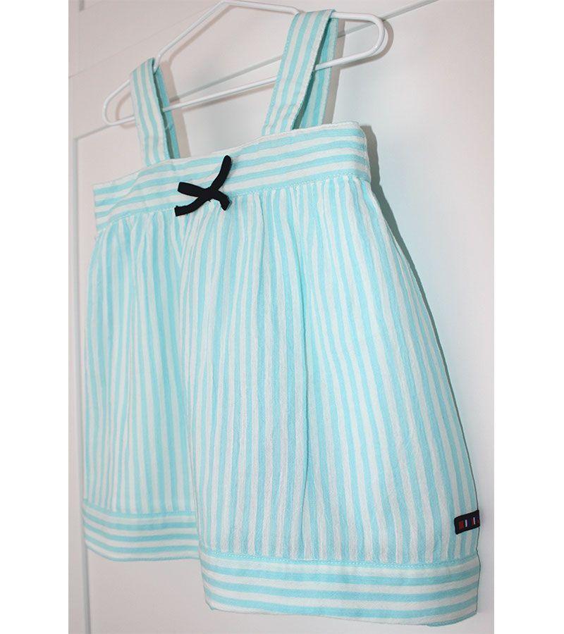 vestido bebe batela 2433 aguamarina 4