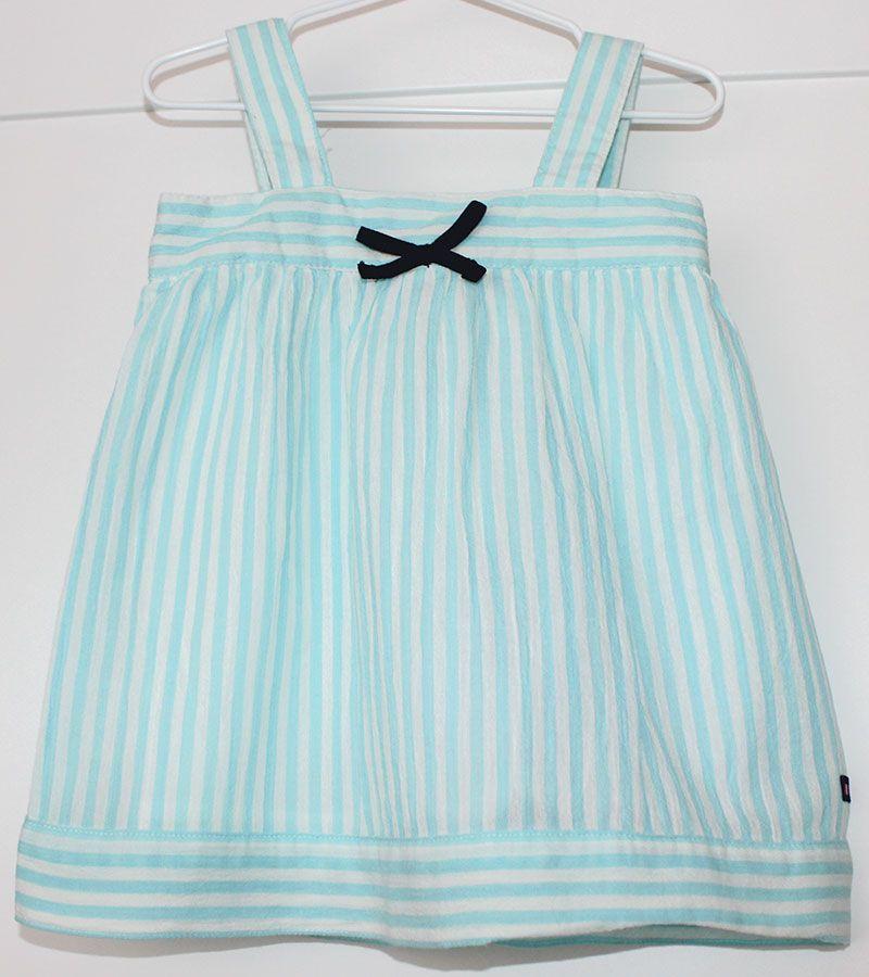vestido bebe batela 2433 aguamarina 2