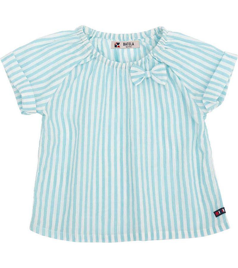 camiseta bebe batela 2432 aguamarina 1