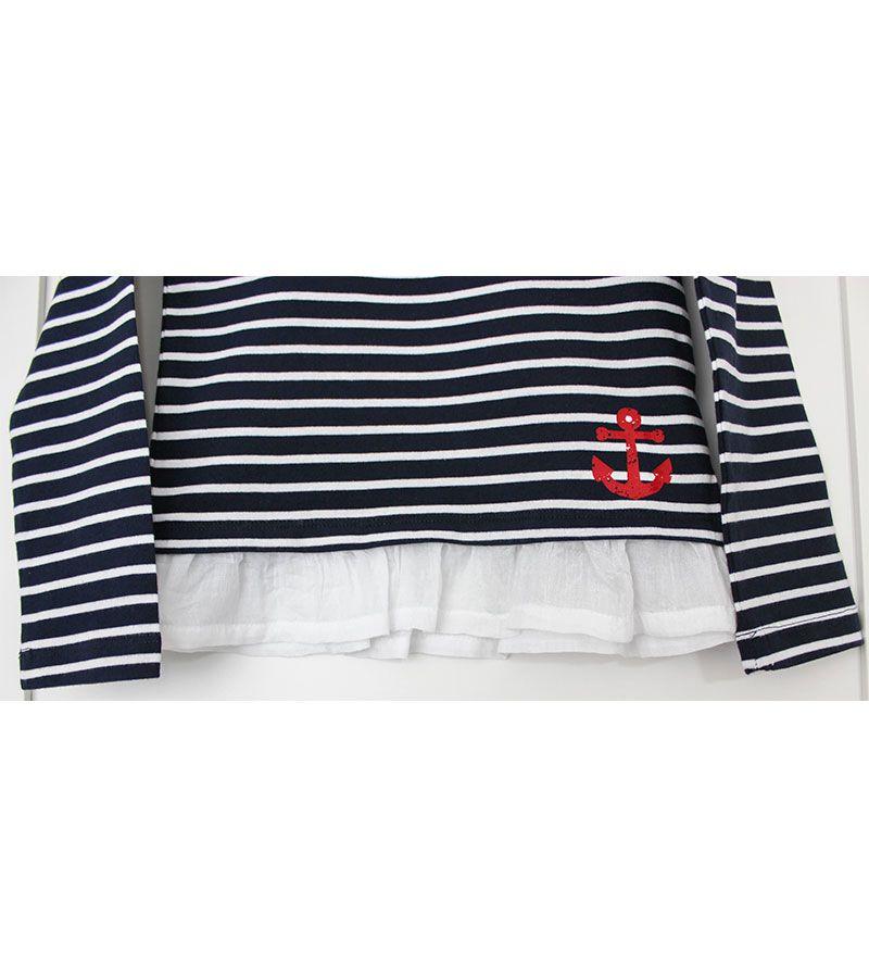 camiseta batela 2771 marinoblanco 5