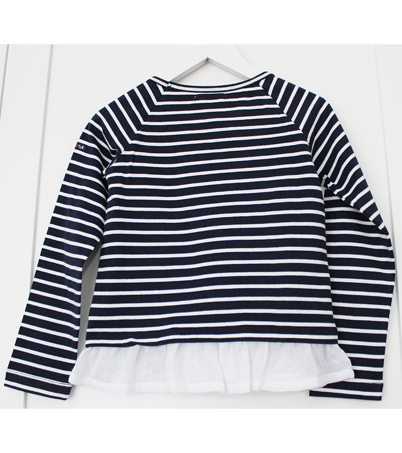 camiseta batela 2771 marinoblanco 3