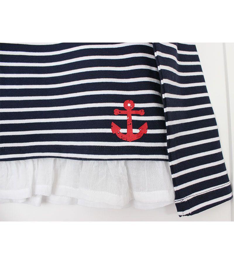 camiseta batela 2771 marinoblanco 2
