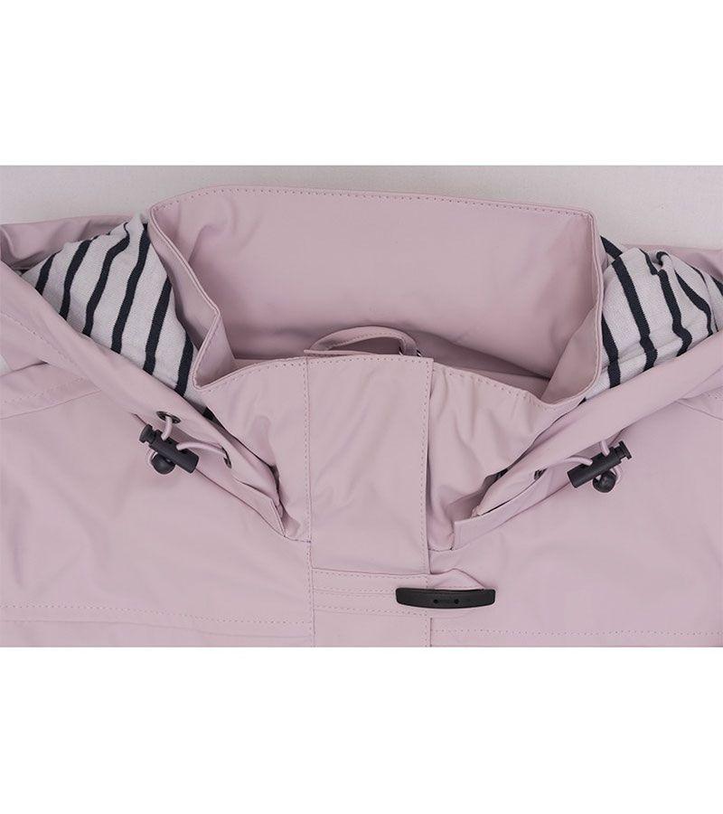 impermeable nautico mujer batela rosa 3008 2