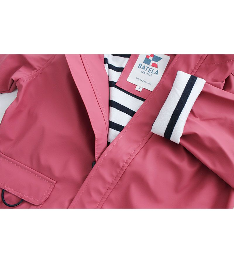 impermeable nautico nino batela rosa 3120 6