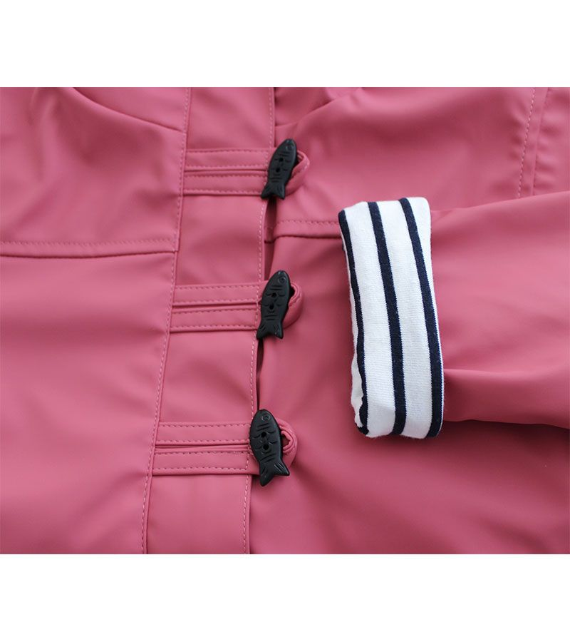 impermeable nautico nina batela rosa antiguo 3121 5