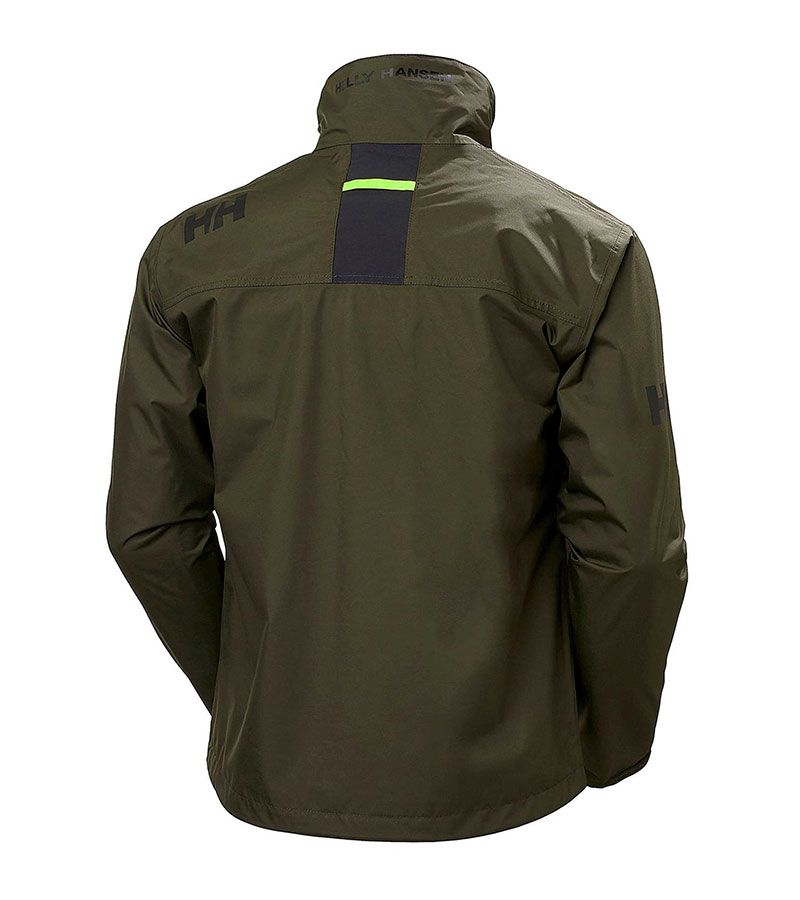 helly hansen crew jacket verde 4