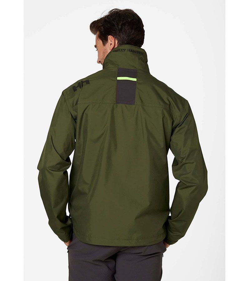helly hansen crew jacket verde 3