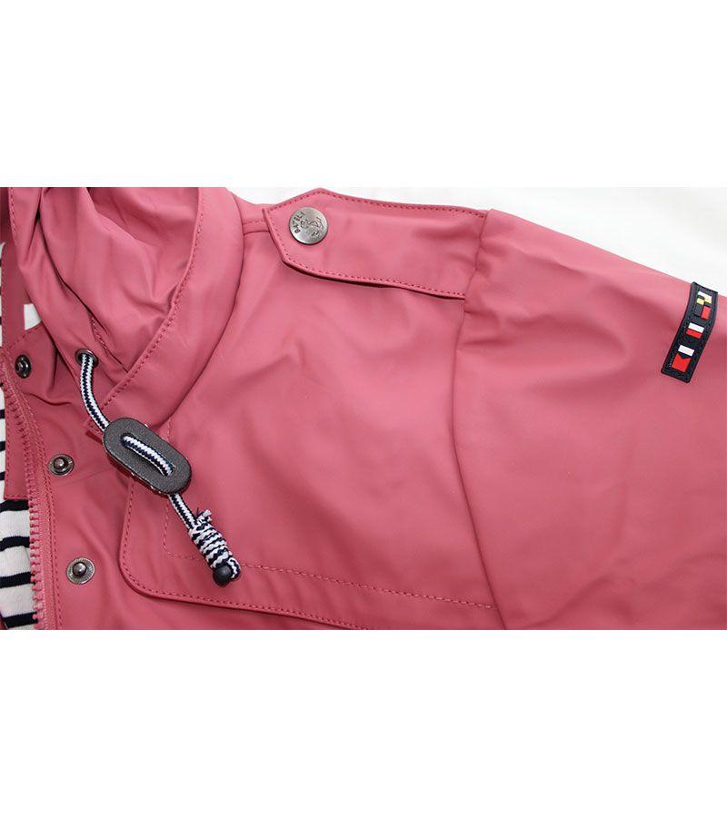 impermeable mujer batela 3044 rosa antiguo 7