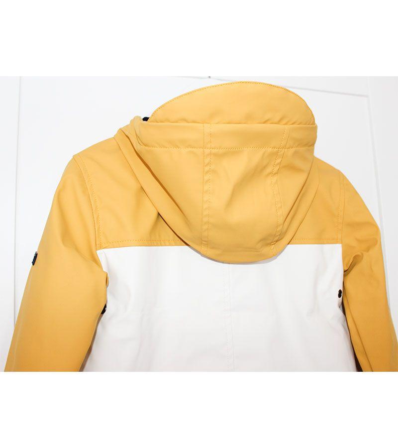 impermeable unisex batela 3123 amarillo blanco 1