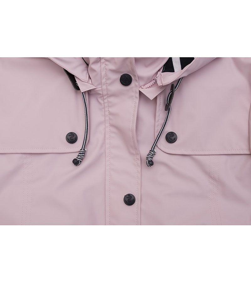 impermeable mujer batela 3027 rosa palo 2