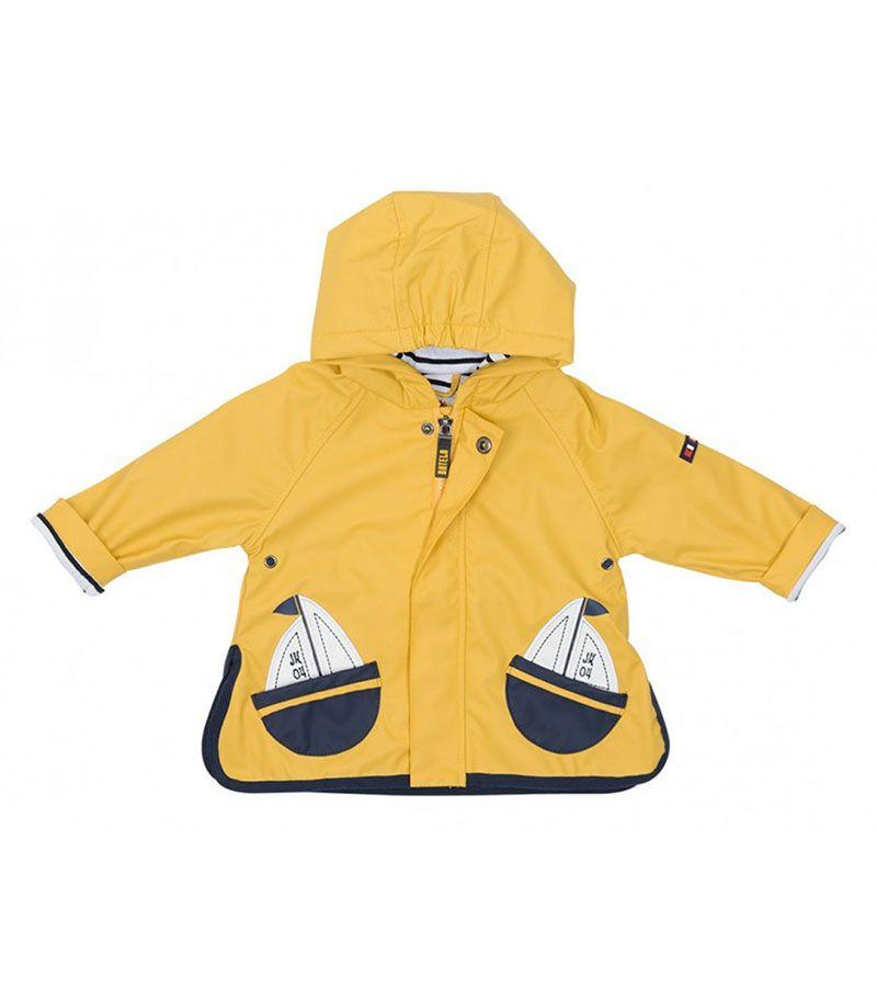 impermeable bebe batela 3105 amarillo 4