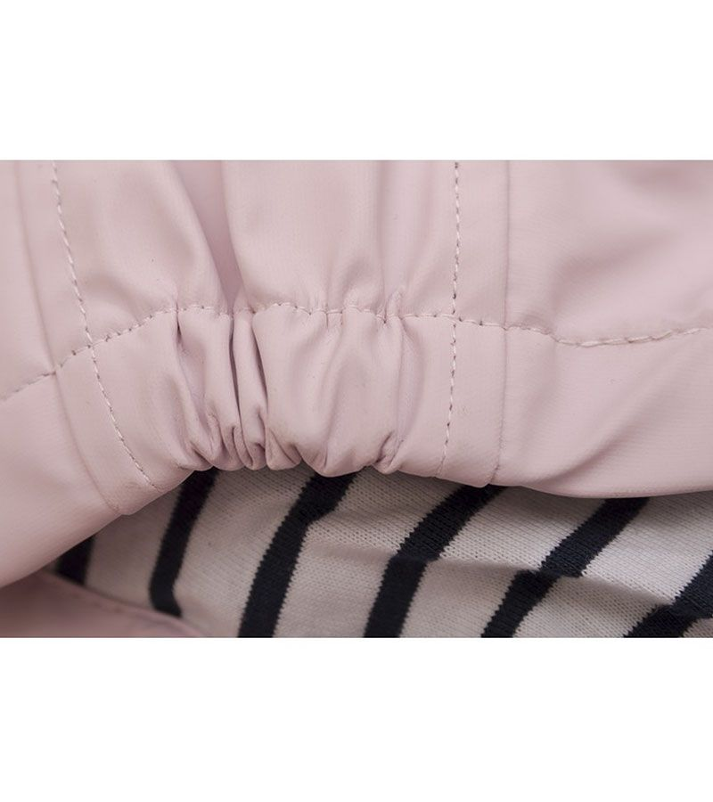 impermeable bebe batela 3105 rosa palo 3