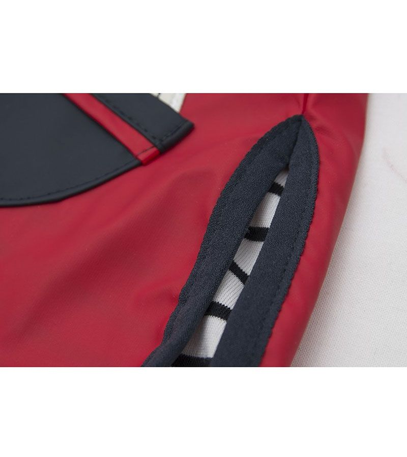 impermeable bebe batela 3105 rojo 3
