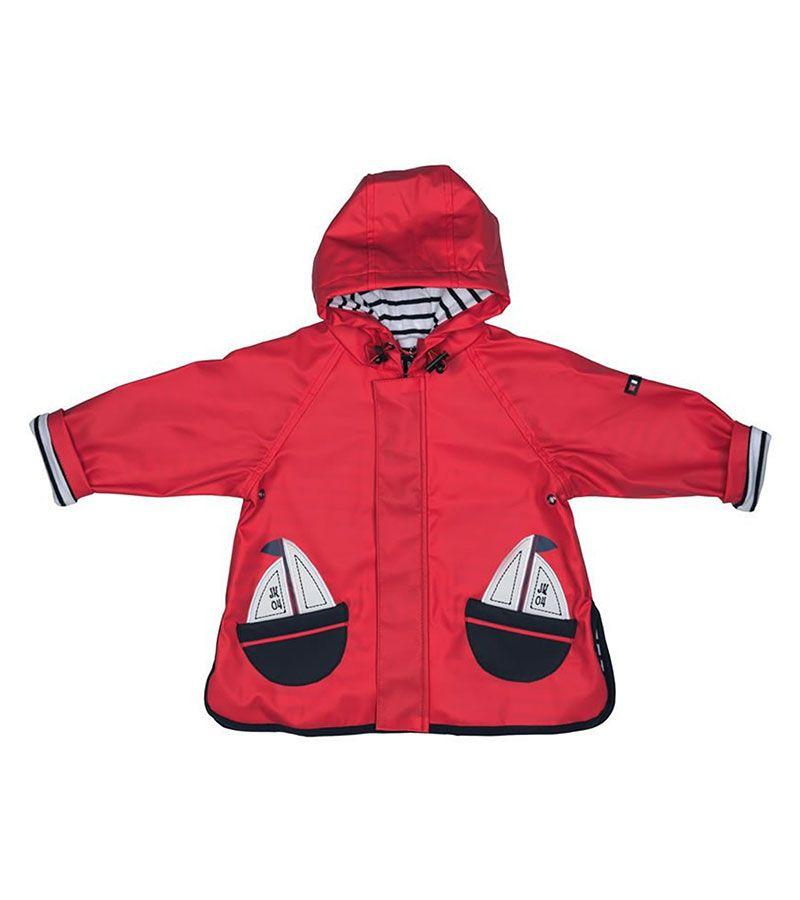 impermeable bebe batela 3105 rojo 1