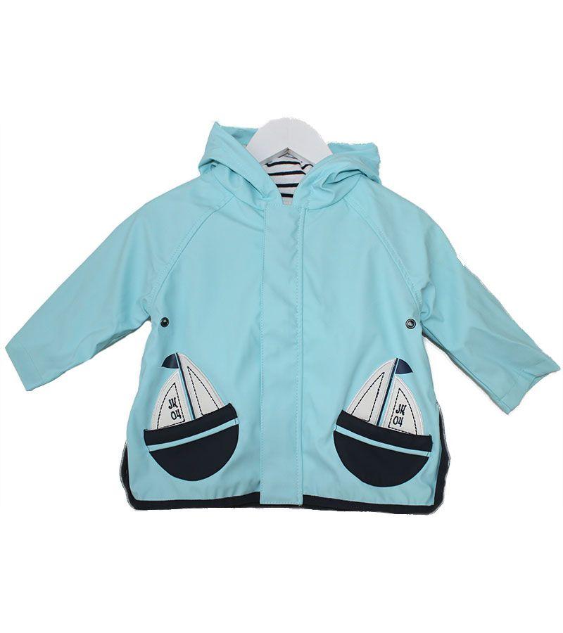 impermeable bebe batela 3105 aguamarina 2