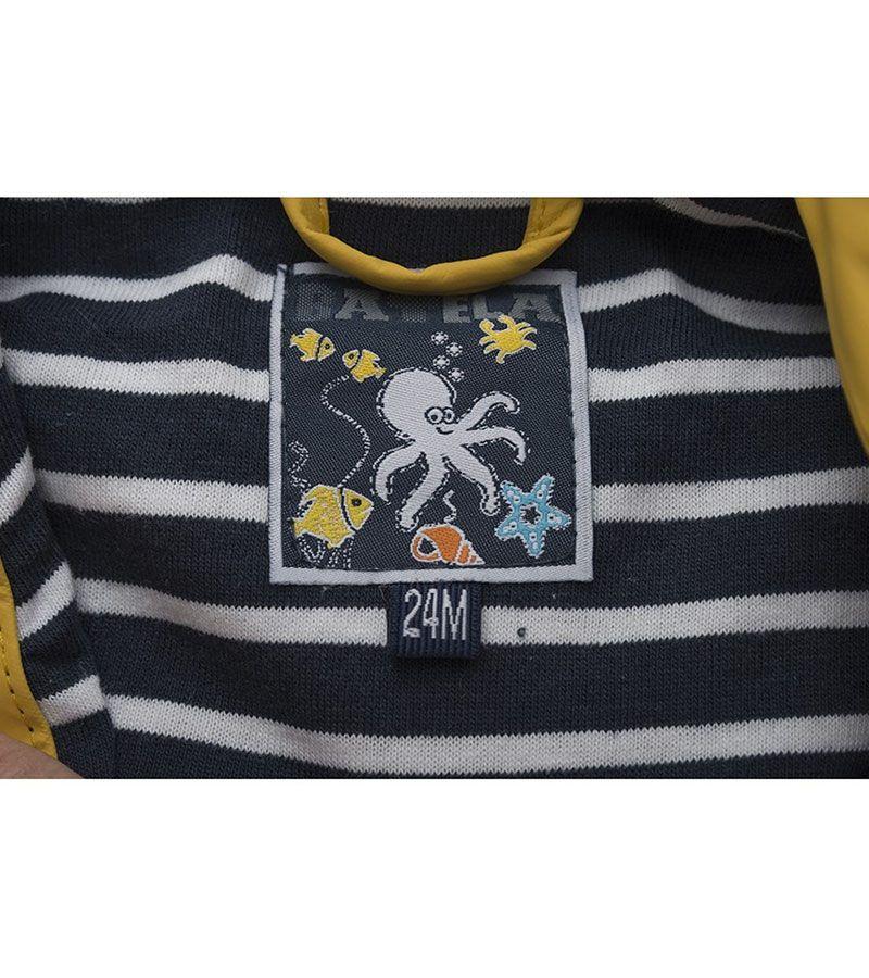 impermeable bebe unisex batela 3122 amarillo 3