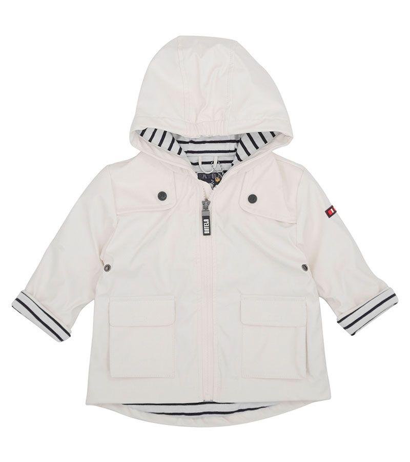 impermeable bebe unisex batela 3122 blanco 1