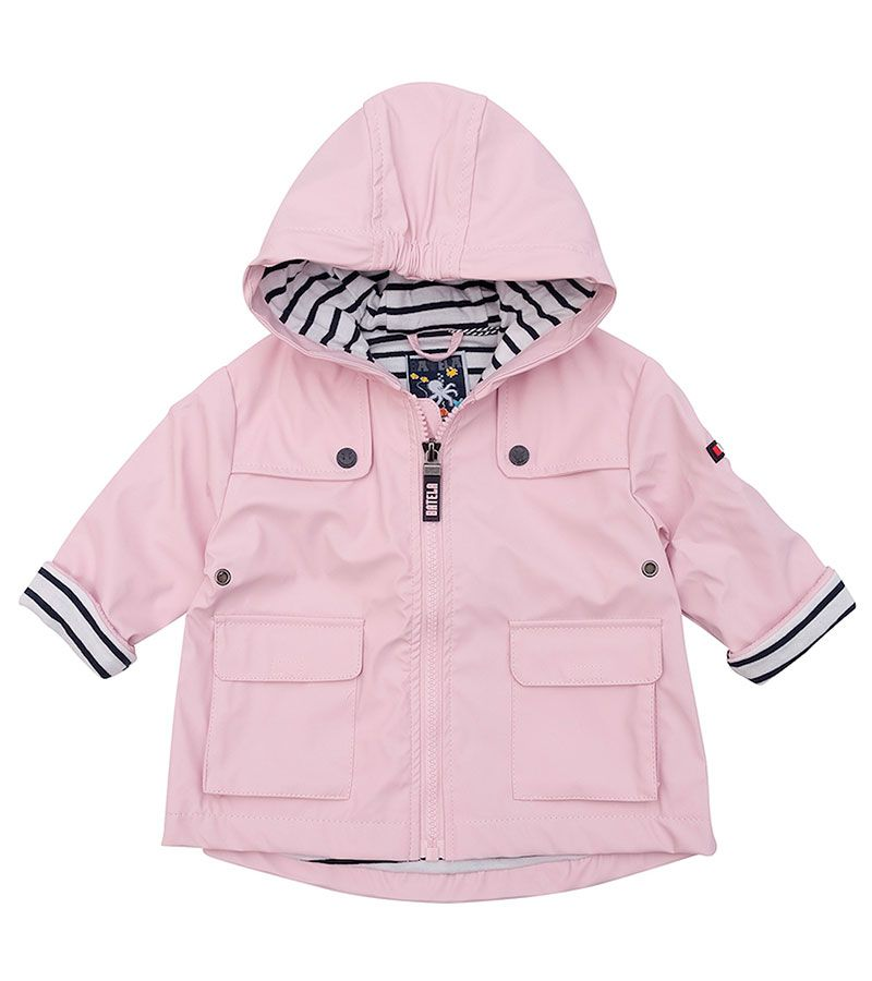 impermeable bebe unisex batela 3122 rosa 1