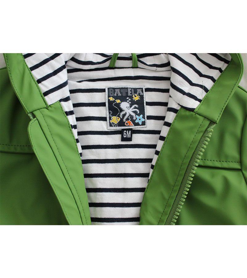 impermeable bebe unisex batela 3122 verde 4