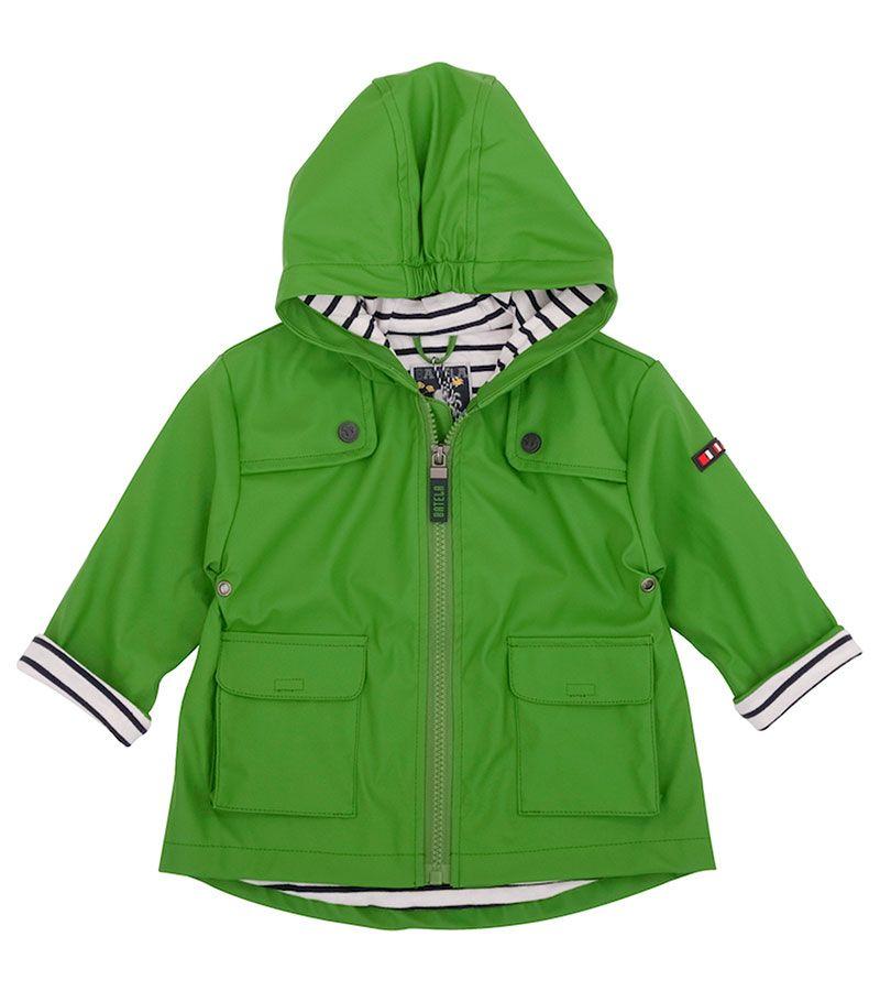 impermeable bebe unisex batela 3122 verde 1