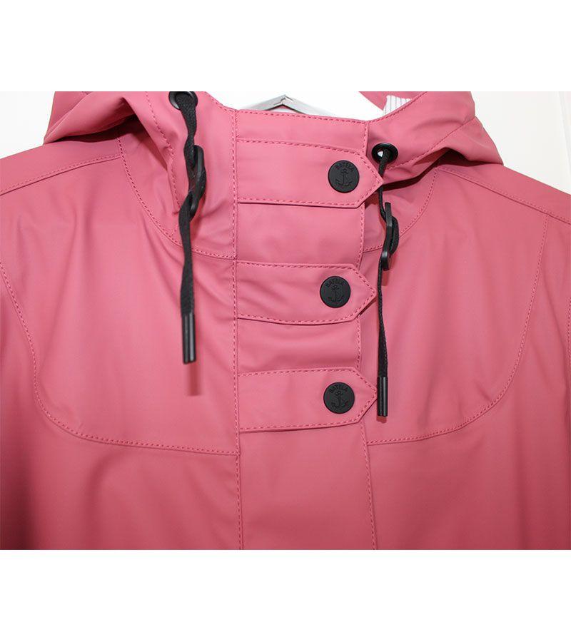 impermeable mujer batela 3012 rosa antiguo 4