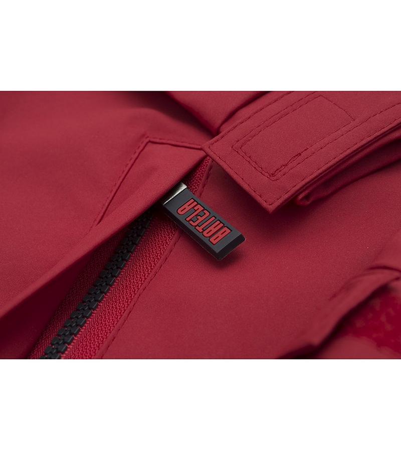 impermeable verano hombre batela 3042 rojo 3