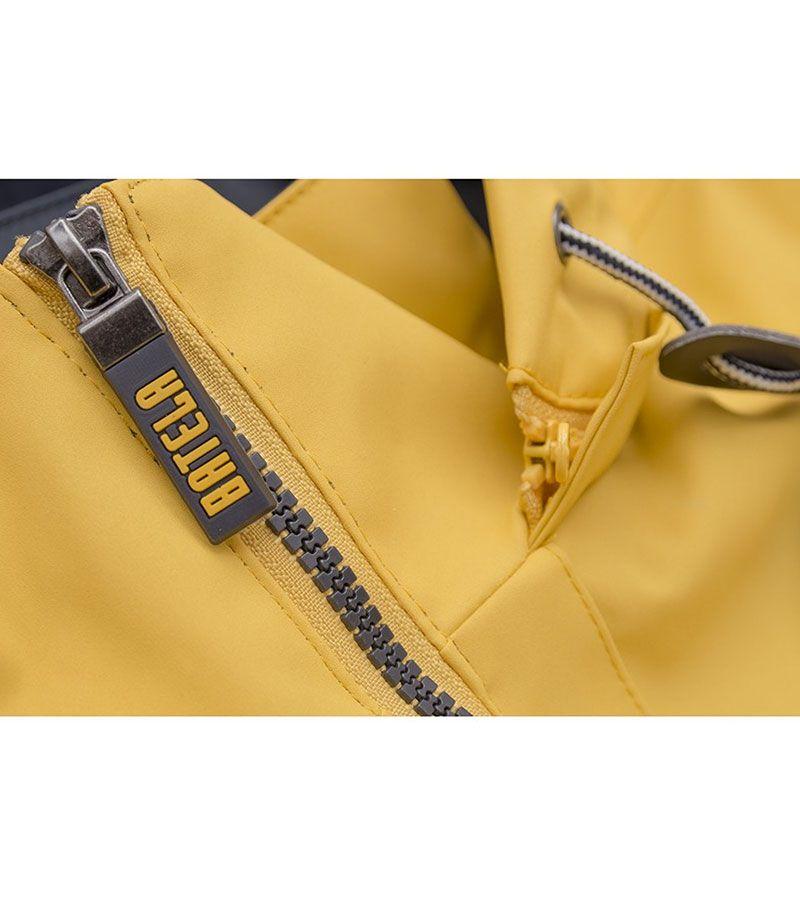 impermeable verano hombre batela 3042 amarillo 3