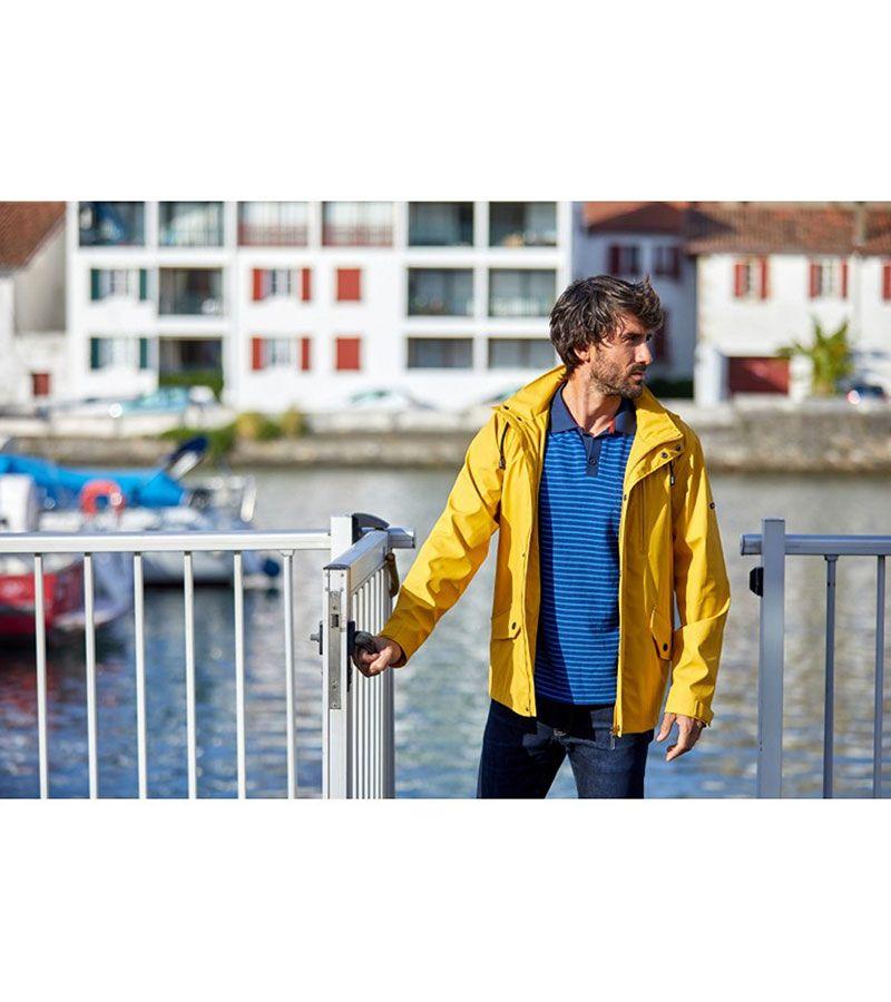 impermeable verano hombre batela 3013 amarillo 4