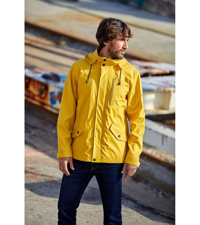 impermeable verano hombre batela 3013 amarillo 3