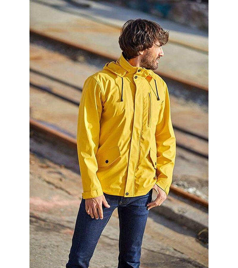 impermeable verano hombre batela 3013 amarillo 2