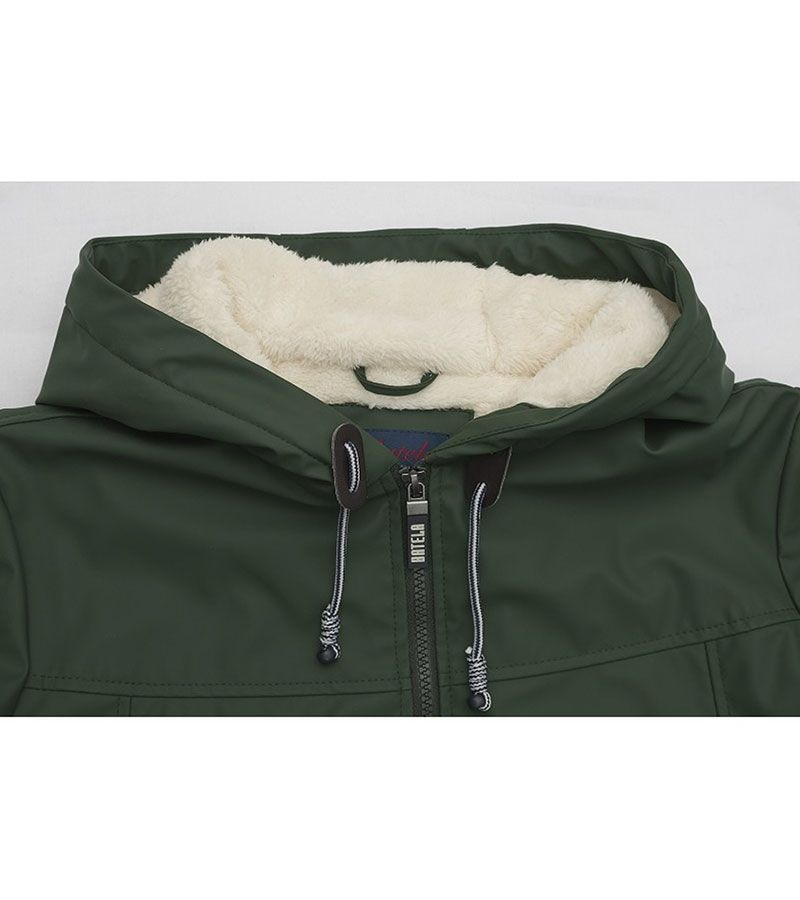 impermeable nautico mujer 3031 verde 4