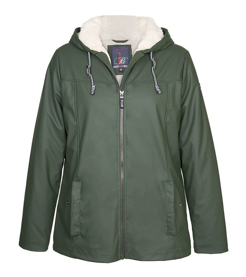impermeable nautico mujer 3031 verde 1