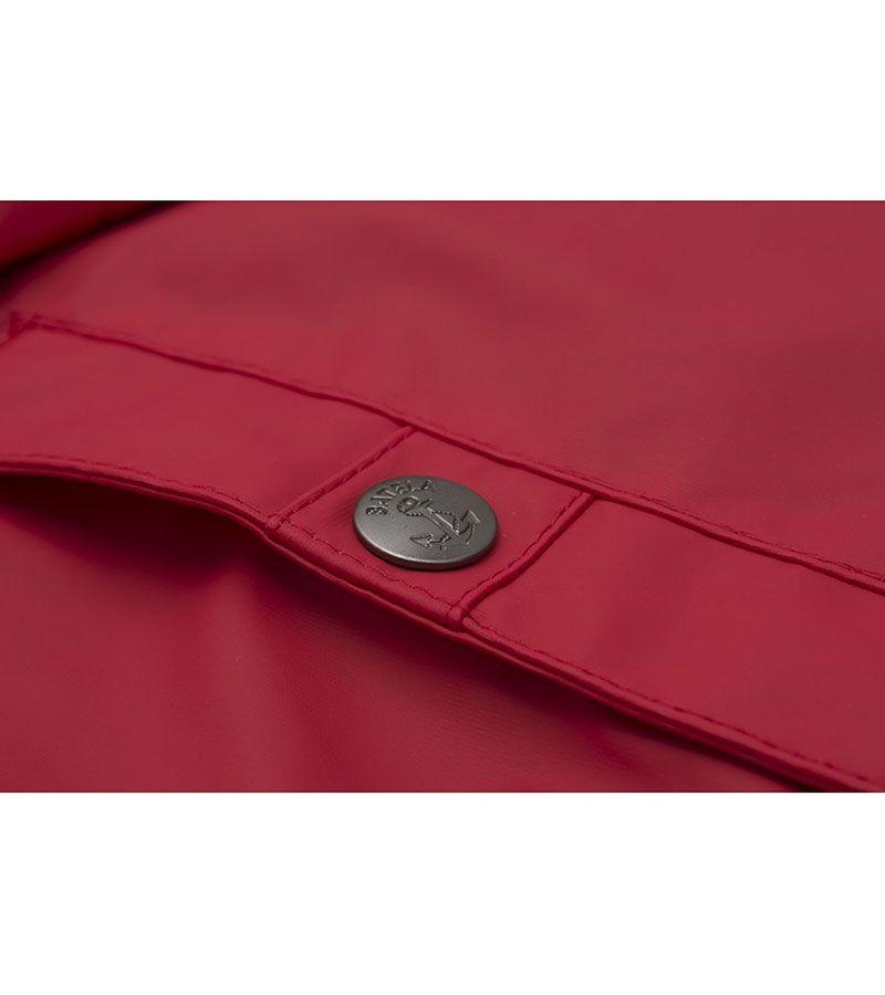 impermeable nautico mujer 3031 rojo 2